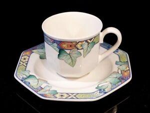 Beautiful Villeroy Boch Pasadena Cup And Saucer
