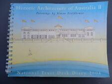 Historic Architecture of Australia 2 - Fieldhouse - 2004 Calendar