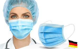 Mundschutz Gesichtsmaske Atemmaske Atemschutzmaske Staubschutz 3-lagig Maske OP