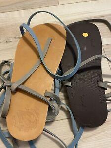 LUNA sandals USED WORN ONCE.