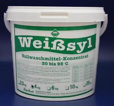 4 kg VOLLWASCHMITTEL WEIßSYL WASCHMITTEL DETERGENT DETERGENTE WASCHPULVER POWDER