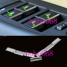 7X For Chevrolet Cruze 2009-2014 Car Window Button Decorate Cover sequin DIY llj