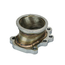 """GT25 GT28 Turbo Flange to 2.5"""" Inch 63 V Band Adapter For Exhaust Elbow downpipe"""