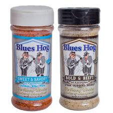 Blues Hog BBQ Bold Beefy & Sweet Savory Dry Rub Seasoning 6 oz (2 Pack)