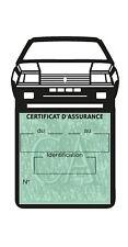 Eui vignette assurance voiture FUEGO RENAULT simple adhésif Stickers auto rétro