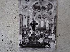 801 - AK  Ottobeuren - Innenansicht der Basilika- ungelaufen