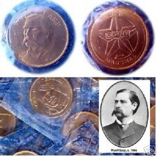 Wyatt Earp: US Deputy Marshall.  Rugged Americans Coin. Franklin Mint. Sealed!