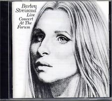 CD - BARBRA STREISAND - Live Concert At The Forum