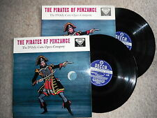 PIRATES OF PENZANCE 2 LP SET STEREO DECCA WIDE BAND & GROOVED SKL 4038 / 9 EXC