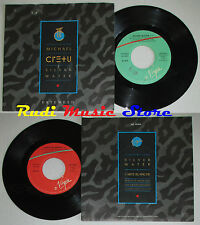 LP 45 7'' MICHAEL CRETU Silver water Carte blanche 1985 italy VIRGIN cd mc dvd *