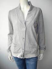Levi Strauss&Co Damen Shirt Pulli Pullover Weste Grau M