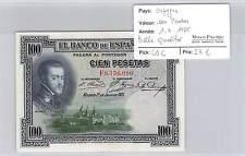 BILLET ESPAGNE - 100 PESETAS - 1-7-1925**