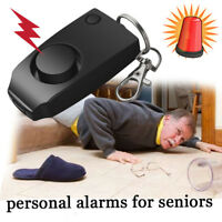 Anti-rape Device Loud Alarm Alert Attack Panic Keychain Personal Safety Security