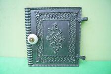 Antike Ofentür Warmhaltefach Tür vom Gussofen Jugendstil Gusseisen Ofen