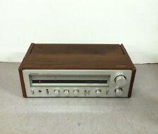 Vintage Wood Grain Technics FM/AM Stereo Receiver SA-202