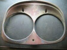 58 1958 FORD Headlamp Headlight Door Ring Bezel  PAIR - SET OF 2 - NO RESERVE -