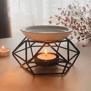 Metal Essential Oil Burner Aroma Diffuser Tea Aromatherapy Candle Light Holder