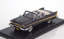 PLYMOUTH FURY CONVERTIBLE 1958 BLACK NEO 46040 1/43 CABRIOLET NOIR GOLD SCHWARZ