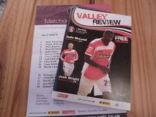 Charlton Athletic v Barnsley FC 01.11.08 + teamsheet