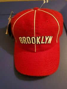 NWT Brooklyn Royal Giants Negro League Baseball museum fitted size 6 7/8 Red