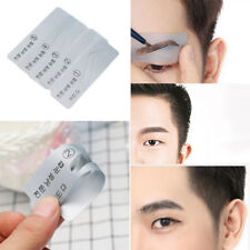 5 Style Men Brow Template Eyebrow Drawing Card Brow MakeUp Grooming Stencil Card