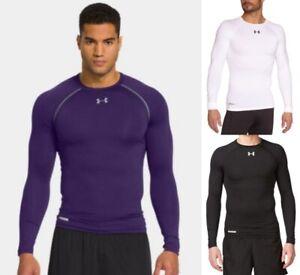 Under Armour Men's HeatGear Long Sleeve Compression Shirt, Quick Shipping