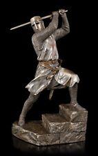 Tempelritter Figur mit Zweihänder Schwert | Ritterfigur Kreuzritter Veronese