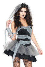 Women's Sexy Female Buried Bride Halloween costumes cosplay perform dress 6-8