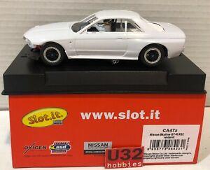 Slot.it CA47Z Nissan R32 White Racing N Gauge Building Kit
