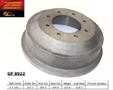 Best Brakes GP8922 Rear Brake Drum Pair