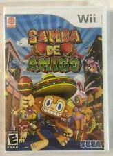 Samba De Amigo (Nintendo Wii, 2008) Video Game Still Sealed New