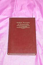 Golden Precepts of Esotericism G. de Purucker Theosophical 1937 S5076