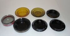 Vintage Assorted Collectible Las Vegas Nevada Hotel And Casino Ashtrays Lot Of 7