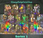 Injustice Arcade Series 1 Full Silver Holofoil Set Out of Print 17 Cards