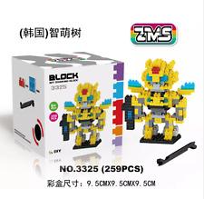 LOZ Cartoon Diamond Blocks Yellow Transformer Blocks Cute Mini Blocks DIY