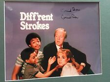 GENUINE HAND SIGNED CONRAD BAIN 'DIFFERENT STROKES' TV PHOTO