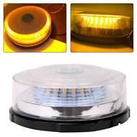 12v24v Flashing Beacon Magnetic Lightbar Truck Warning Light Strobe UK