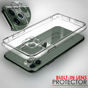 Case For iPhone 12 Pro Max Mini 11 SE 2 XR Cover LENS SCREEN COVER Protector