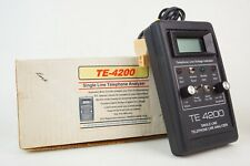 Torfino Enterprises Single Line Phone Analyzer TE-4200 Digital Display
