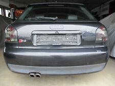 S3 Stoßstange hinten Audi A3 S3 8L EBONYSCHWARZ LZ9W Stoßfänger Spoiler schwarz