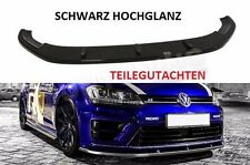 GOLF 7 R Diffusor R Line Lippe Frontspoilerlippe Frontansatz Frontlippe VW VII