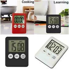 Large LCD Digital Kitchen Cooking Timer Count-Down Up Alarm Magnetic 1 R7R3