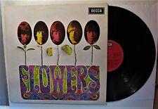 "THE ROLLING STONES ""FLOWERS"" ORIGINAL VINYL LP (DECCA SLK 16487-P; D-1967)  M-"