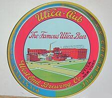 vintage advertising utica club beer tray west end brewing utica new york
