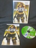 Nintendo Wii: Tomb Raider: Underworld, Tested, Free Shipping, Complete