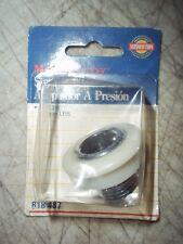"Nos Master Plumber Snap Fitting 818487 1/2"" L.P.S."