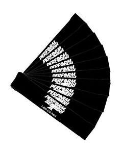 Perform Better Professional Light Exercise Mini XL Band (10 Pack) Black