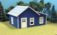 N Scale Laser Cut Custom Coal Company House Building Kit