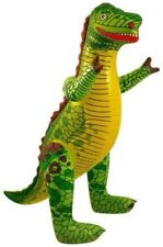 Large Inflatable Kids Pool Beach Party Toy Godzilla Jurassic Park Dinosaur 76cm