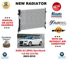 FOR AUDI A3 8PA Sportback 1.6 FSi 2.0 FSi 2003-2012 NEW RADIATOR ** OE QUALITY *